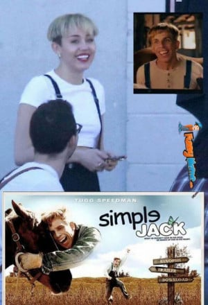 Funny Memes – Miley Cyrus Simple Jack