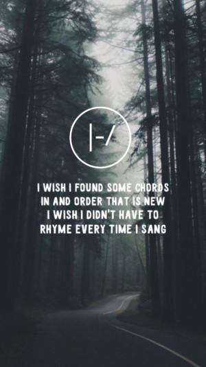 lyrics wallpaper backgrounds background Twenty One Pilots stressed out ...