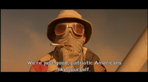 ... : americans, Fear and Loathing in Las Vegas, patriotic and subtitles