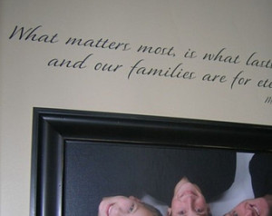LDS Family Wall Decal Saying Quote Vinyl Lettering ...