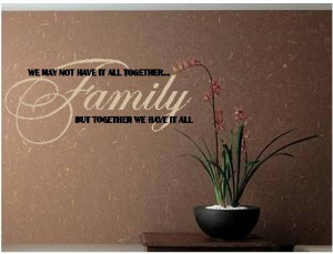It All Together FAMILY -special buy any 2 quotes and get a 3rd quote ...