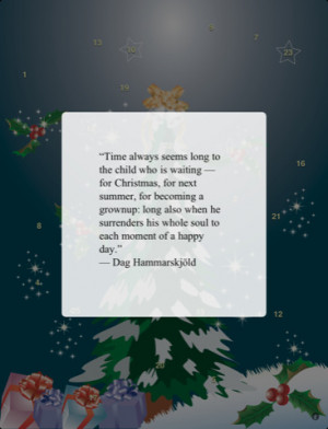 ... Quotations App - Advent Calendar 2010: Christmas Quotations for iPad