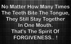 Home > Quotes > Motivational Quote on Spirit of Forgiveness