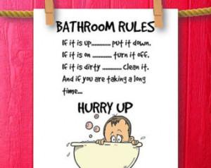 ... Bathroom Wall Quotes, Framed Quotes, Bathroom Humor, Bathroom Decor