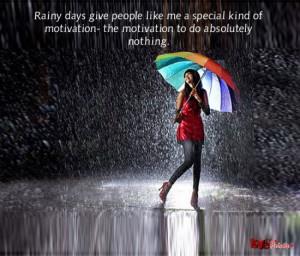 Rain quotes for Facebook