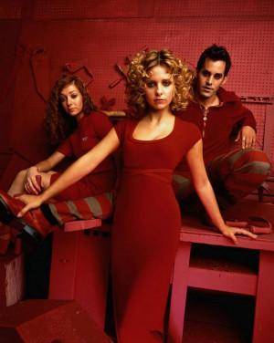 Buffy the Vampire Slayer Xander,Buffy & Willow