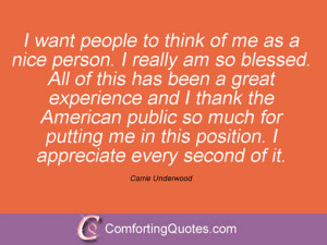 Carrie Underwood Quotes and Sayings