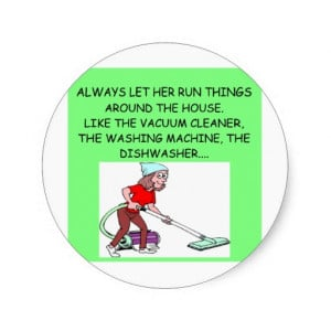 male chauvinist pig jokes round stickers