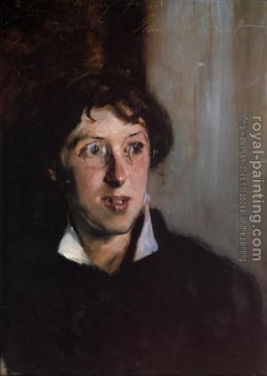 Vernon Lee by John Singer Sargent