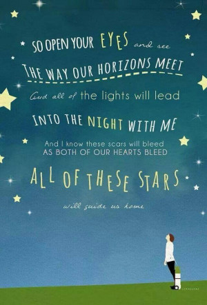 All of the stars - ed sheeran - fault in our stars