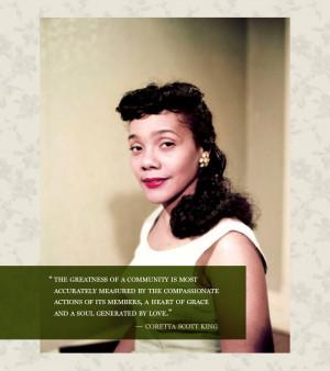 Starlet Quote of the Week: Coretta Scott King