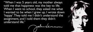 John Lennon Inspirational...