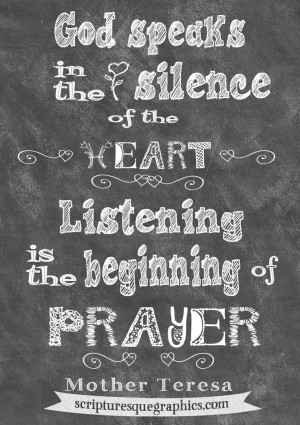... Quotes, Chalkboard Quotes, Mother Teresa, Shhhh Mothers Teresa