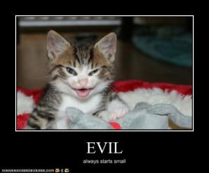 Evil Funny Quotes