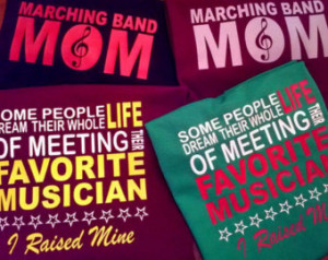 Popular items for band mom