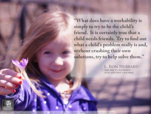 Scientology Parent: Applying Scientology to Parenting and Children