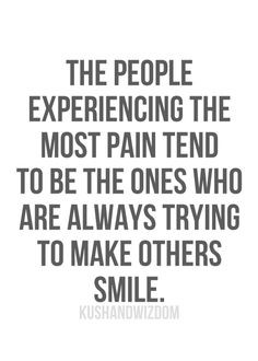 The people experiencing the most pain tend to be the ones who are ...