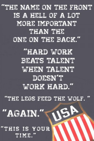 Herb Brooks Speech Quote many famous quotes have