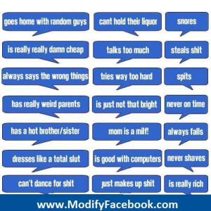 Facebook Funny Status Friendship Quotes Comment Picture 600x600
