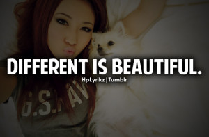 tumblr girl with swag quotes