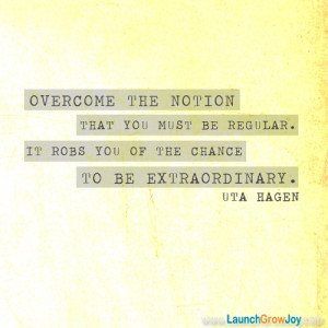 Great quote from Uta Hagen
