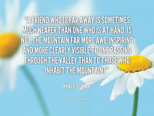 Far Away Friends Quotes
