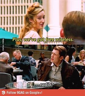 Captain America- movie quote