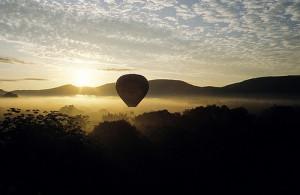 Morning Dew Balloon Flight