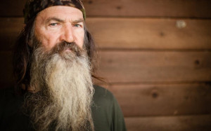 ... Phil Robertson showcased precisely why he was chosen as its recipient