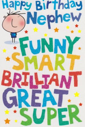 Nephew: Funny Smart Brilliant