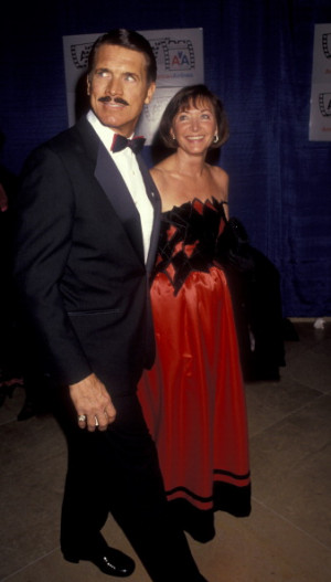 Chad Everett and Shelby Grant