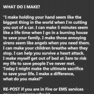 Proud to be an EMT Heroes, Quotes, Do You, Firefighters, Emt, Make A ...