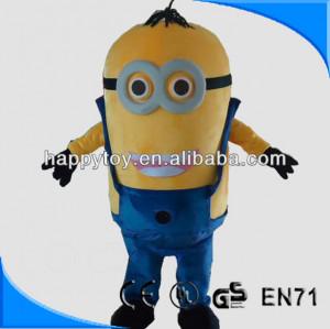 HI CE hot sale despicable me minion mascot costume adult minion ...