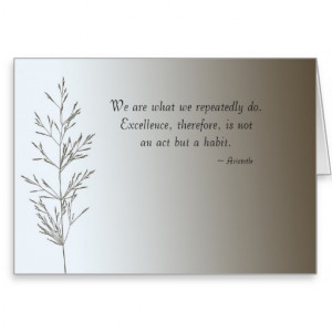 Simple Things with quote Greeting Cards