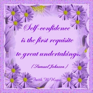 self-confidence quote - help-spot Fan Art