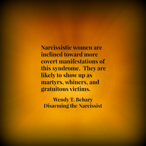 Narcissistic Women