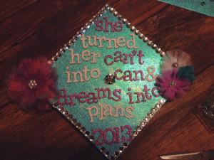 Graduation Cap Decorated.