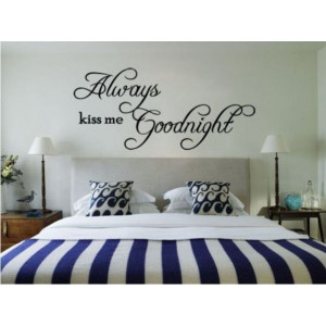 Me Goodnight Removable Vinyl Wall Art Sticker DIY 3D Wall Decal Quotes ...