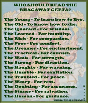 ow who should read Geeta...
