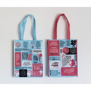 Quote and carry tote bag 1
