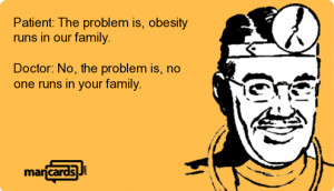 mancard text: Patient: The problem is, obesity ...
