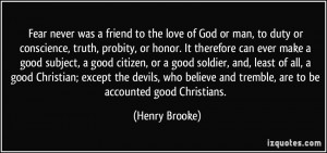 More Henry Brooke Quotes