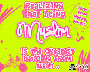 Being Muslim Quote and You Like This Islamic Quote That Says ...