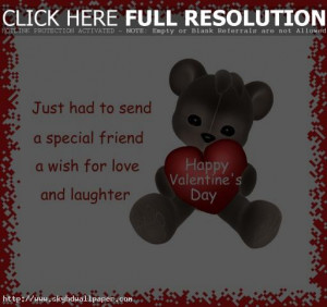 Happy Valentine's Day Quotes for Friends