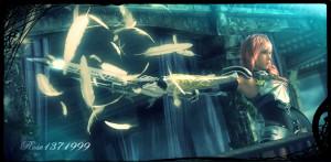 Lightning ff13 2 sword by rose1371999