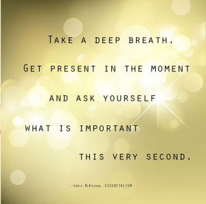 Stay calm. Inspriational quote