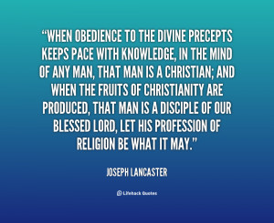 Christian Quotes About Obedience