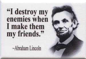 FM047 - Abraham Lincoln Quote