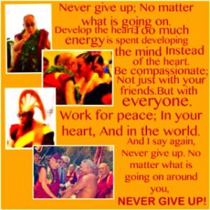 Love~ Compassion~ Peace