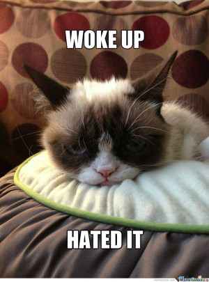 Grumpy Morning